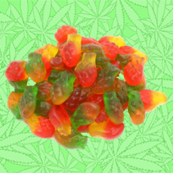 Cannabis Pineapple Express Gummy Candy