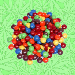 Cannabis W & W's Candied Chocolate Gems