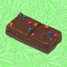 Cannabis Fudge Brownie Bar