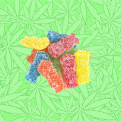 Cannabis Sour Dabs Gummy Candy