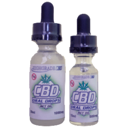 Hemp Oil CBD Drops - 100% CBD