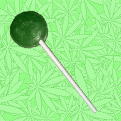 Cannabis Lollipop - Original