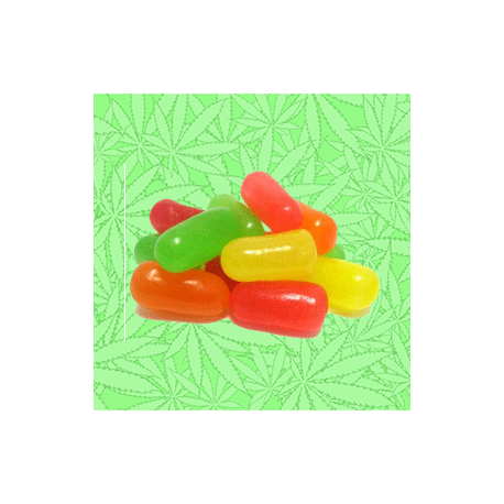 Cannabis Mike'n Ike Candied Fruity Pieces