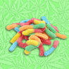 Sour Bummy Worms Gummy Candy