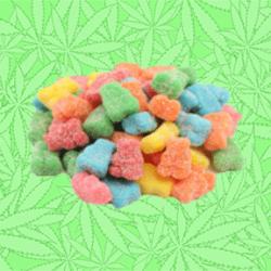 Sour Slumpy Bears Gummy Candy