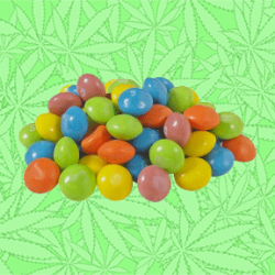 Cannabis Skittlez Candied Tropical Fruit gems