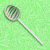 Cannabis Lollipop - Lime